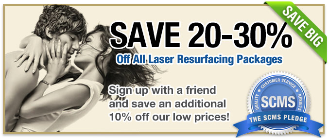 $600 off acne scar removal