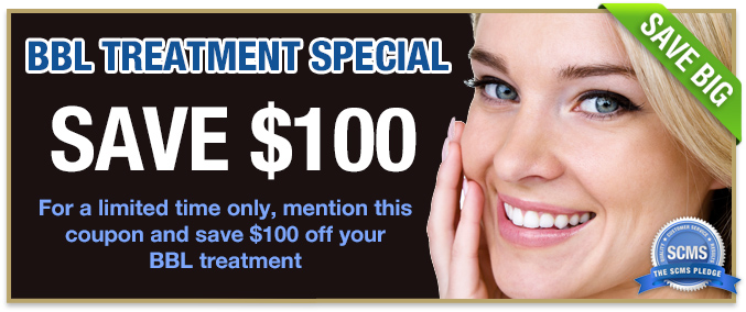 BBL treatment  - Save $100 when you mention this coupon