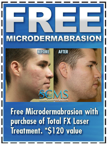 Free Microdermabrasion with package purchase