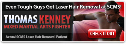 Thomas Kenny MMA Fighter Laser Hair Removal Profile