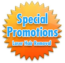 Special Promotions: Laser Hair Removal