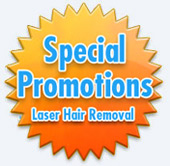 special promotions for laser hair removal